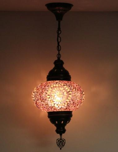 Hanging lamp purple B4