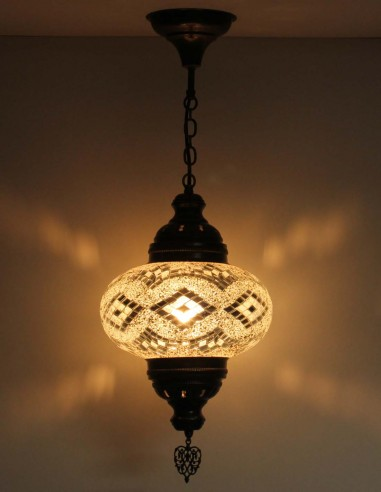 Lampe suspendue blanche B4