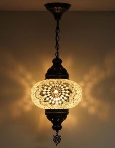 Hanging lamp white B4