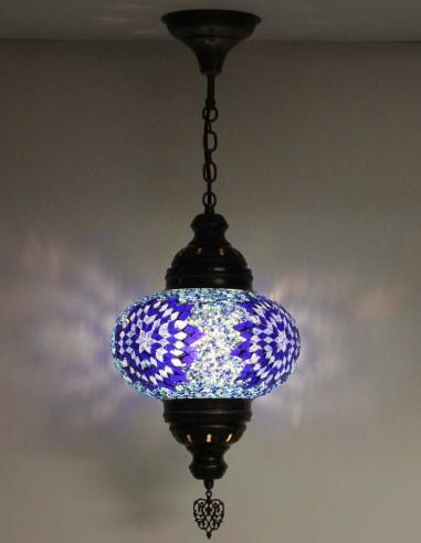 Lampe suspendue bleue B4