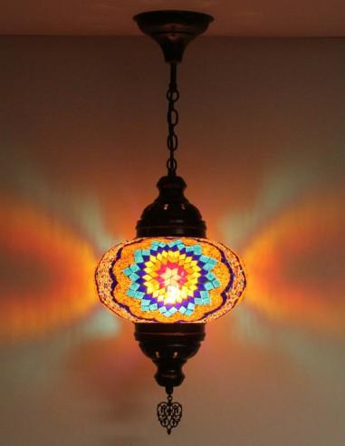Hanging lamp multicolors B4