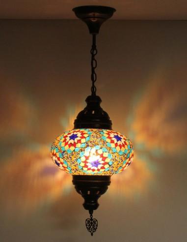 Lampe suspendue multicouleurs B4