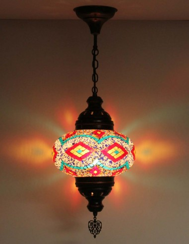 Hanging lamp multicolors B4