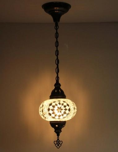 Lampe suspendue blanche B3