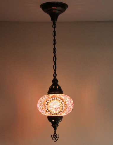 hanging lamp purple B3