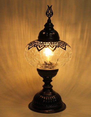 Table lamp blown glass MB3