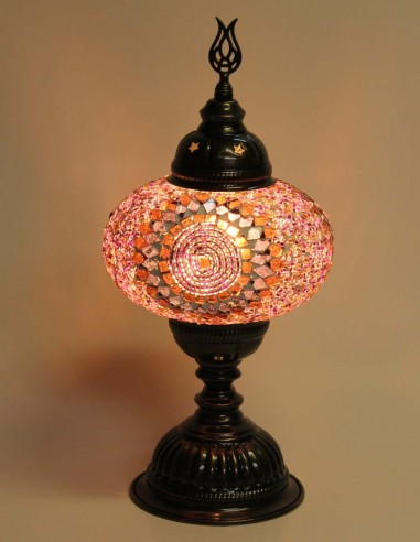 Lampe de table mauve MB3