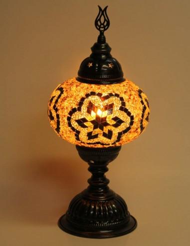Lampe de table brune MB3