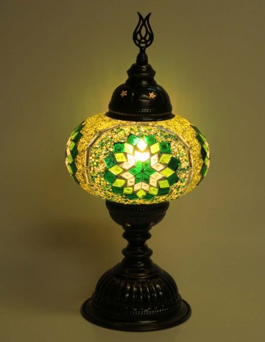 Lampe de table verte MB3