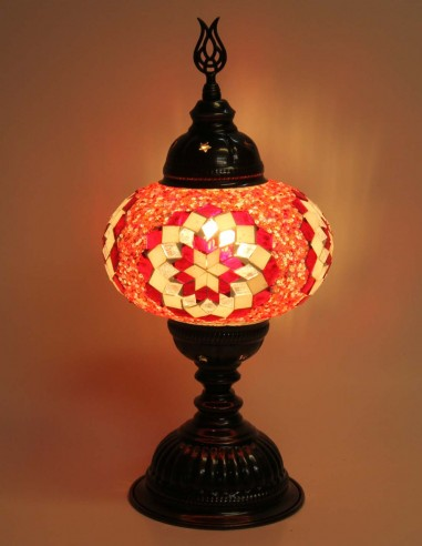 Table lamp red MB3