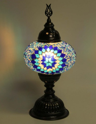 Lampe de table bleue MB3