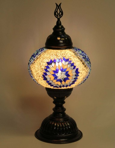 Lampe de table bleue MB3