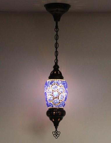 Lampe suspendue bleue F1