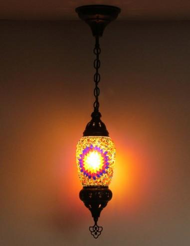 Hanging lamp multicolors F1