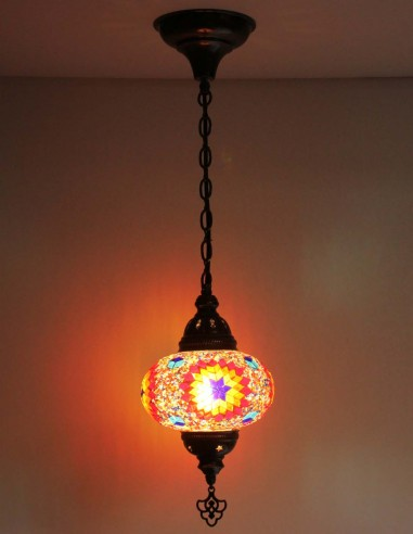 Hanging lamp multicolors B3