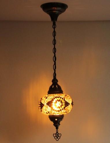 Hanging lamp brune B3