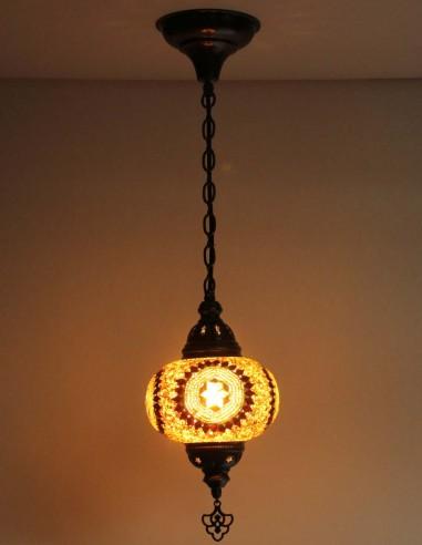 Lampe suspendue brune B3