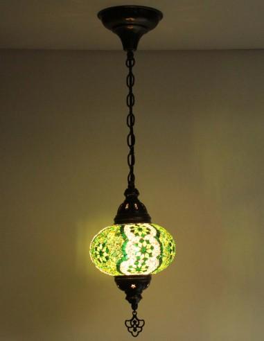 Lampe suspendue verte B3
