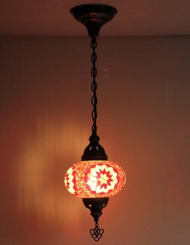 Hanging lamp red B3