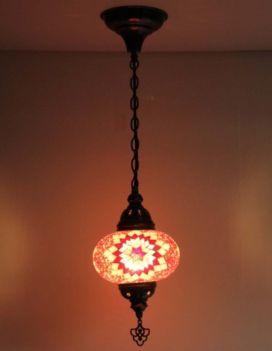 Hanging lamp red B3
