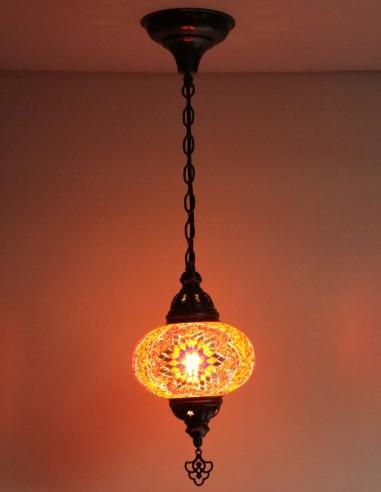 Lampe suspendue rouge B3