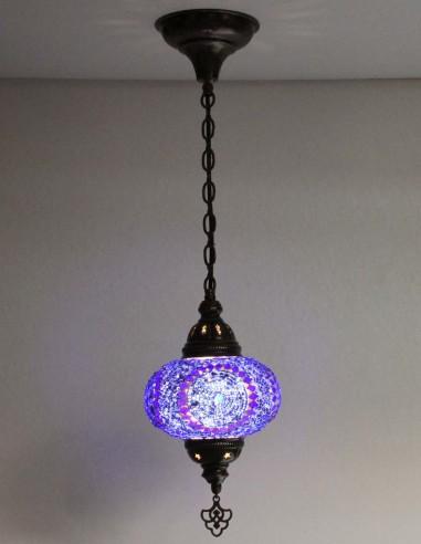 Hanging lamp blue B3