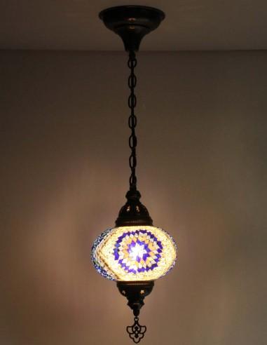 Lampe suspendue bleue B3