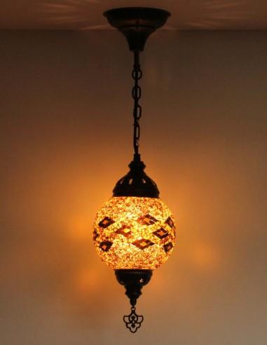 Lampe suspendue brune T15