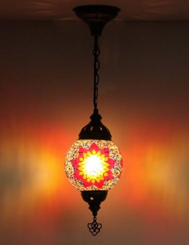 Lampe suspendue multicouleurs T15