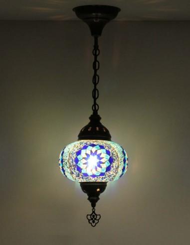 Lampe suspendue bleue B3,5