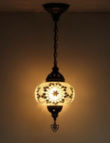 Hanging lamp white B3,5