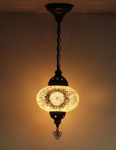 Lampe suspendue blanche B3,5