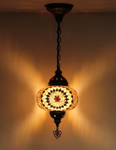 Hanging lamp brown B3,5