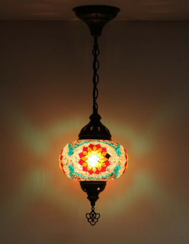 Hanging lamp multicolors B3,5