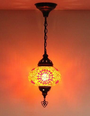 Lampe suspendue rouge B3,5
