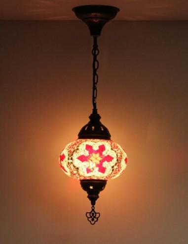 Hanging lamp rouge B3,5