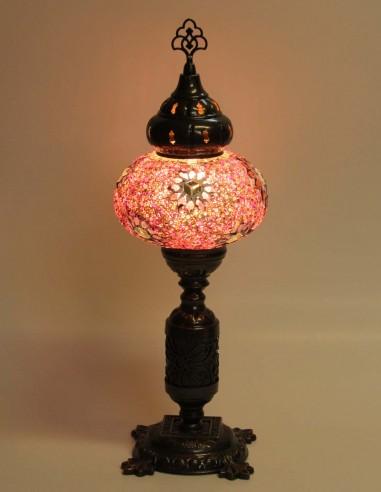 Lampe de table mauve MB3N