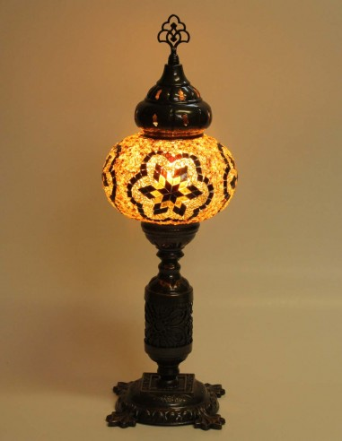 Lampe de table brune MB3N