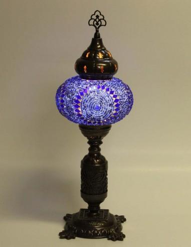 Lampe de table bleue MB3N