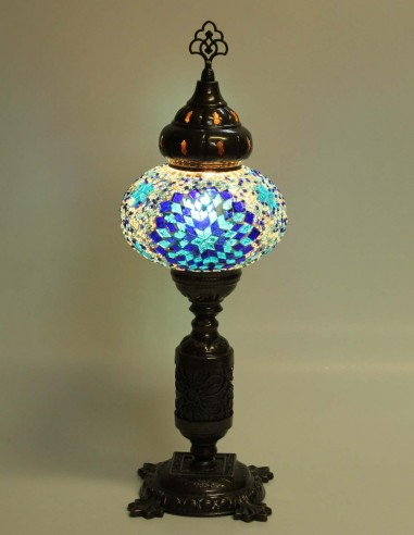 Lampe de table bleue MB3N