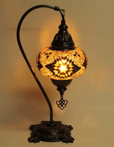 Table lamp brown DB3