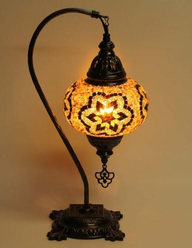 Lampe de table brune DB3
