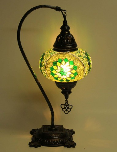 Lampe de table verte DB3