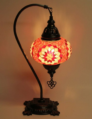 Lampe de table rouge DB3