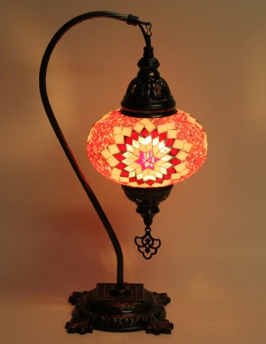 Table lamp red DB3
