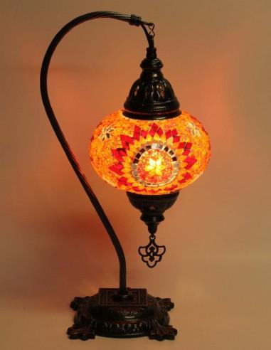 Lampe de table rouge DB3