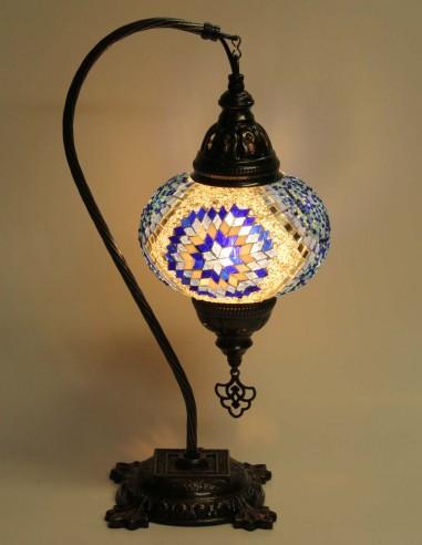 Lampe de table bleue DB3