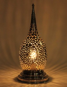 Silver openwork Moroccan...