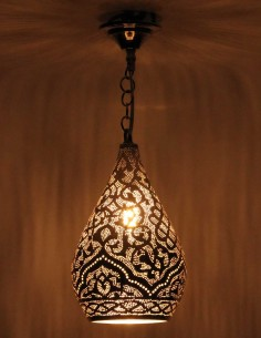 Silver openwork Moroccan...