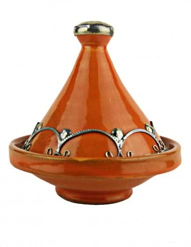Mini tajine marocain 4,75 pouces